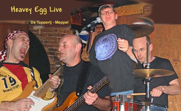 heavey egg live in de tapperij meppel