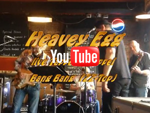 Heavey Egg Live - Bang Bang - ZZ Top, Tapperij Meppel april 2013