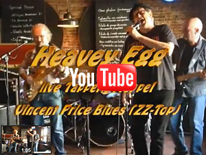 Heavey Egg Live - Vincent Price Blues - ZZ Top, Tapperij Meppel april 2013